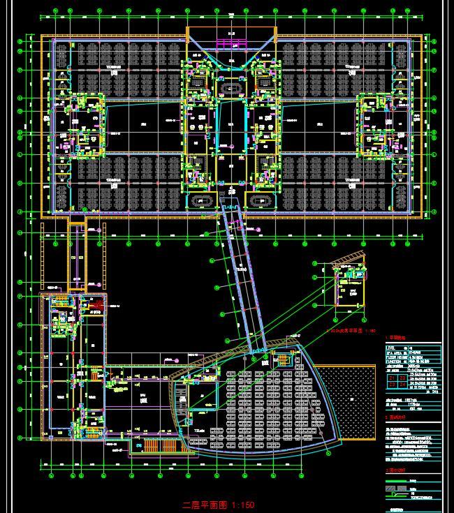 某银行总部多层后台中心行政办公楼宿舍建筑方案设计(4)