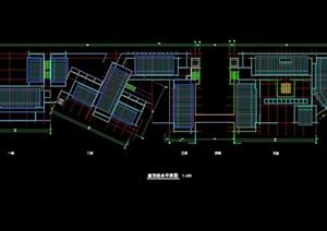现代住宅屋顶设计cad方案