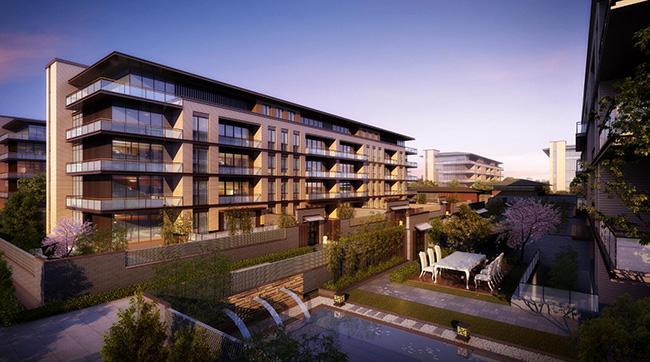 新中式洋房居住小区su模型设计[原创]