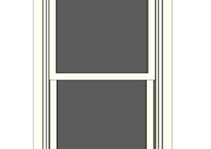 某建筑窗子详细设计SU(草图大师)模型