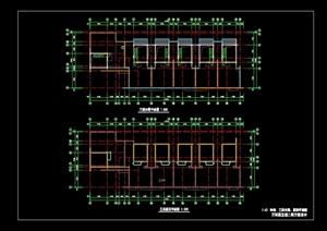 现代屋顶建筑设计cad方案