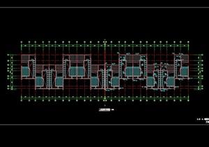某别墅建筑屋顶设计cad方案