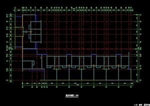 住宅楼屋顶设计cad平面图