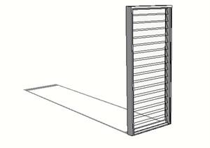 某独特的窗子设计SU(草图大师)模型