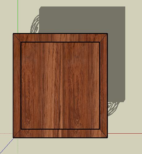 某室内欧式详细的桌子su模型