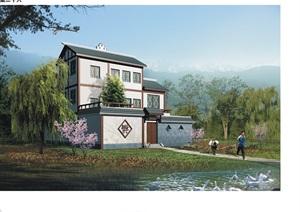 中式农村自建别墅jpg方案