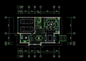 精品别墅装修设计cad施工全套图-设计素材下载