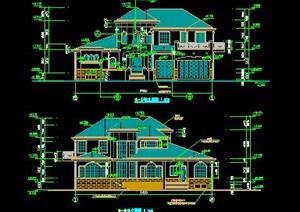 某花园别墅住宅建筑施工图