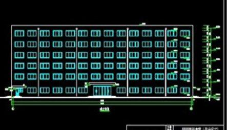六层框架结构综合楼建筑结构设计(16)