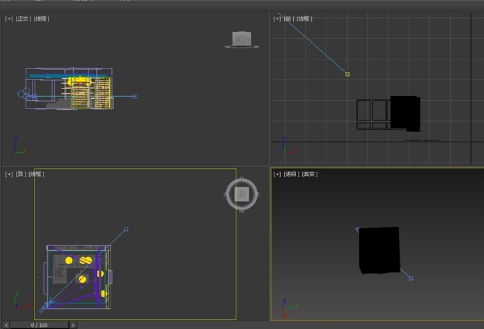 某室内客厅空间设计3d模型(2)