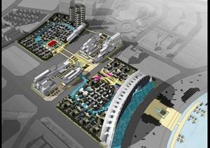 某详细的城市中心项目概念设计ppt方案
