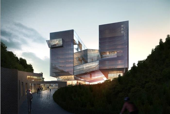 某大学建设工程项目总体规划和一期工程建筑设计方案高清文本