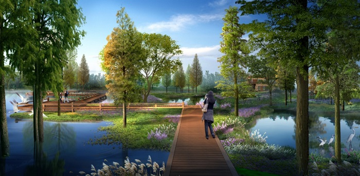 嘉兴秀湖生态公园景观提升设计方案高清文本2016(8)
