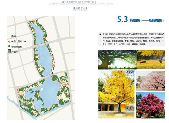 某湖泊生态公园景观提升设计方案高清文本
