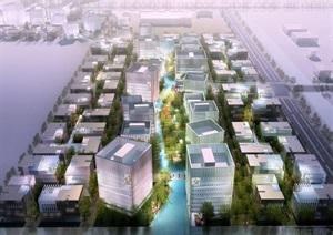 现代产业园详细规划设计pdf方案