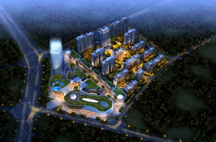 安徽某小区规划及建筑设计方案