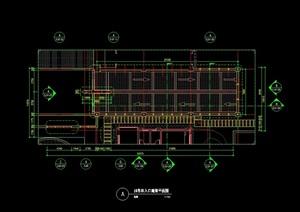 车库入口廊架详细设计cad方案