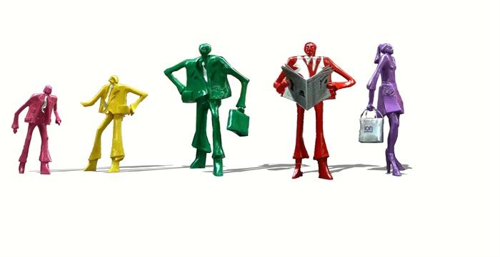 现代创意商业雕塑小品su模型[原创]