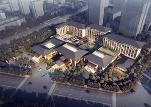 某新城酒店建筑设计jpg方案