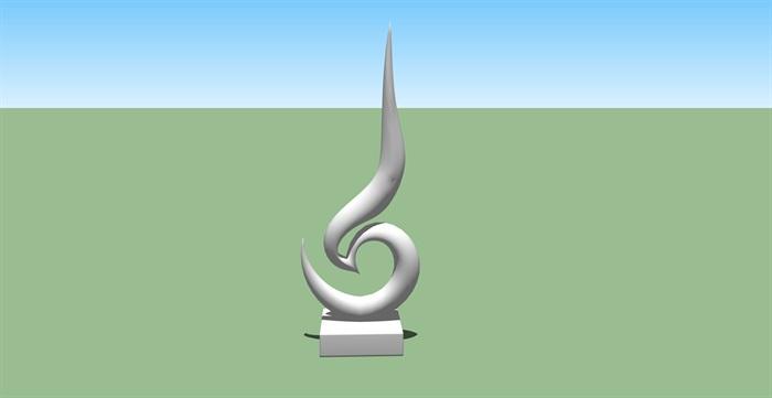 90个景观抽象雕塑素材su模型[原创]