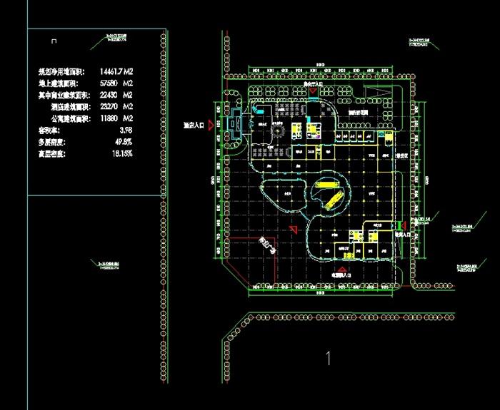 四个德阳平面建筑设计方案SU面部(附CAD模型绘制酒店v平面达芬奇的图片