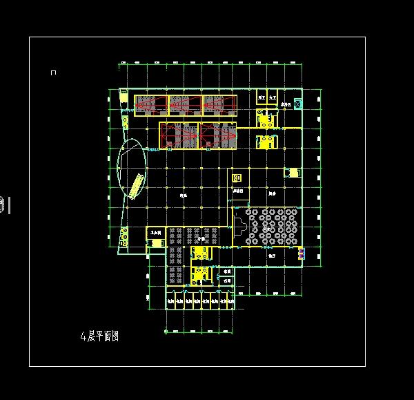 四个德阳店面建筑设计方案SU模型(附CAD平面广州酒店服装设计装修公司图片