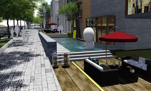 重庆某街道景观改造设计