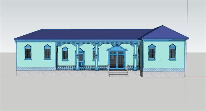 维族民族房设计图