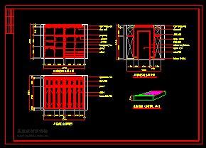 欧式(别墅)室内装修设计施工图(4)