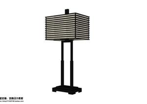现代10个室内灯具组件SU模型