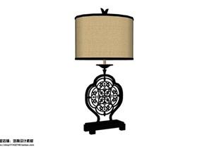 10个室内灯具设计组件SU模型