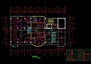 整套酒店空间室内设计cad施工图