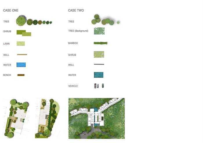外国景观设计各种风格彩城市平图总平图平面图psd素材