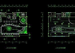 宾馆详细室内空间设计cad施工图