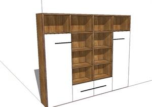 储物柜独特详细设计SU(草图大师)模型