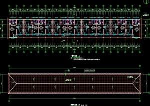 某高档猪场建筑结构设计cad施工图