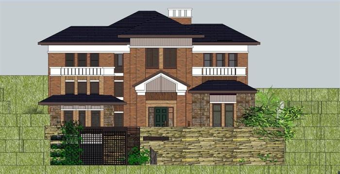 精品歐式風格山地別墅建筑SU模型,模型為歐式風格,模型有材質貼圖,制作詳細獨特精致完整,具有一定的使用價值,有需要請下載使用。