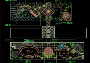 中心绿地绿化平面设计图