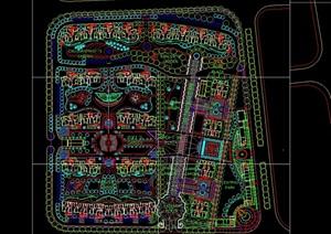 多层小区详细完整设计cad方案