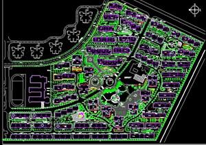 居住小区规划总平面图