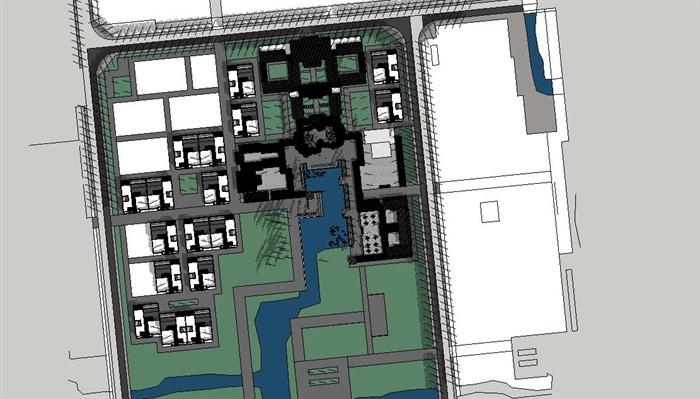 新农村住宅区规划及公共活动公园(1)
