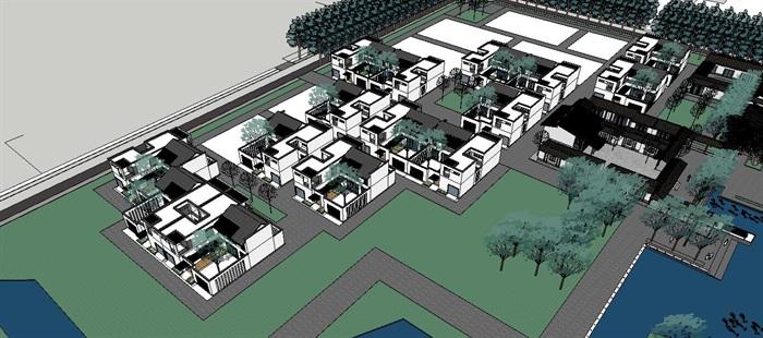 新农村住宅区规划及公共活动公园(2)