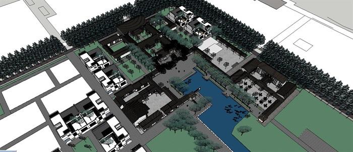 新农村住宅区规划及公共活动公园(3)