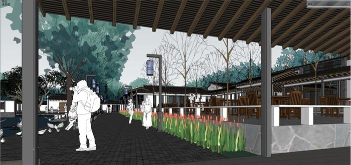 新农村住宅区规划及公共活动公园(4)