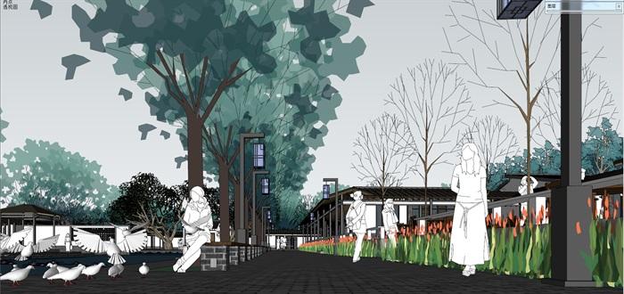 新农村住宅区规划及公共活动公园(7)