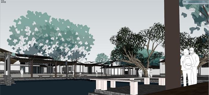 新农村住宅区规划及公共活动公园(8)