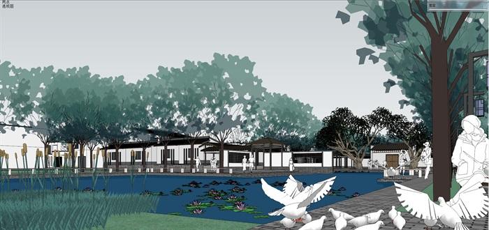 新农村住宅区规划及公共活动公园(11)