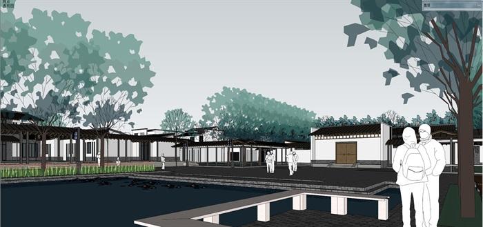 新农村住宅区规划及公共活动公园(12)