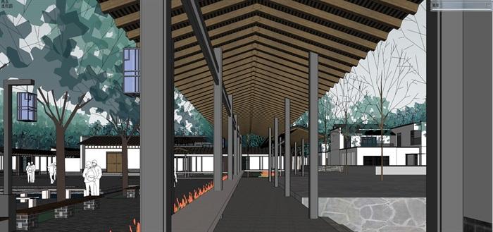 新农村住宅区规划及公共活动公园(15)