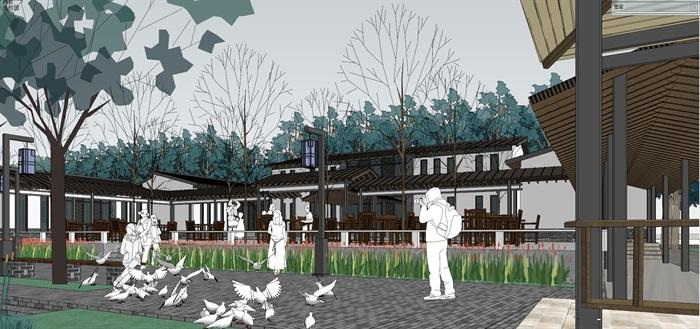 新农村住宅区规划及公共活动公园(16)